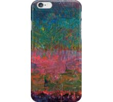 Abstract Landscape Series - Wildflowers iPhone Case/Skin