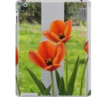 Four Orange Tulips iPad Case/Skin
