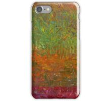 Abstract Landscape Series - Fallen Leaves iPhone Case/Skin