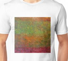 Abstract Landscape Series - Fallen Leaves Unisex T-Shirt