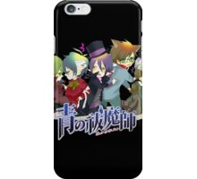 the whole team blue exorcist  iPhone Case/Skin