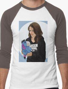 cute.  Men's Baseball ¾ T-Shirt