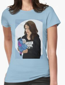 cute.  Womens Fitted T-Shirt
