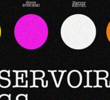Reservoir Dogs Minimalist Sticker