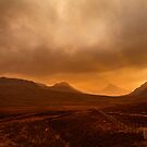 Stac Polly a Winters' Sunset by derekbeattie