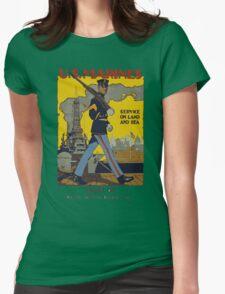 Marine Recruiting Womens Fitted T-Shirt