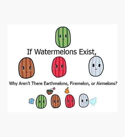 The Elemelons Photographic Print