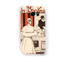 Artist Posters The bookman April JM Flagg 0011 Samsung Galaxy Case/Skin