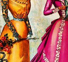FASHIONABLE LADIES VINTAGE 92 Sticker