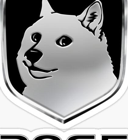 """Dodge Ram """"DOGE"""" Logo Sticker"""