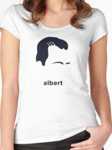 Albert Camus (Hirsute History) Women's Fitted Scoop T-Shirt