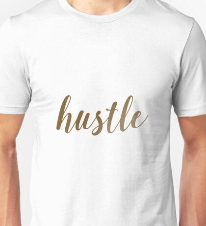 Hustle on White Unisex T-Shirt