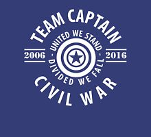 TEAM CAPTAIN - COMIC TO CIVIL WAR Unisex T-Shirt