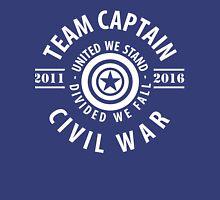 TEAM CAPTAIN - FIRST MOVIE TO CIVIL WAR Unisex T-Shirt