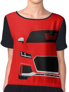 Coupe Front-end Chiffon Top