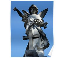 Angel Statue Poster