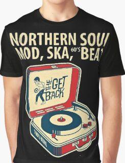 Northern Soul, Mod, Ska, 60s Beat  Graphic T-Shirt