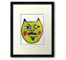 Pikasnoop Framed Print