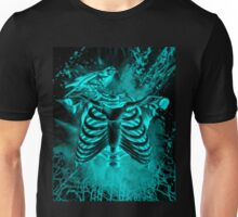 Free from inside-Black & blue Unisex T-Shirt