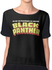 Black Panther - Classic Title - Clean Chiffon Top