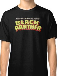 Black Panther - Classic Title - Clean Classic T-Shirt