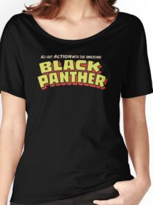 Black Panther - Classic Title - Clean Women's Relaxed Fit T-Shirt