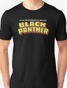 Black Panther - Classic Title - Clean T-Shirt