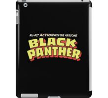 Black Panther - Classic Title - Clean iPad Case/Skin