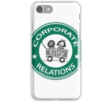 corporate relations  iPhone Case/Skin