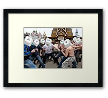 Keyboard Wars Framed Print