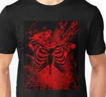 Free from inside-Black & red Unisex T-Shirt