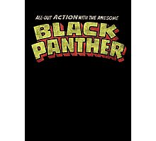Black Panther - Classic Title - Dirty Photographic Print
