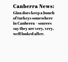 Gina's Canberra Turkeys Unisex T-Shirt