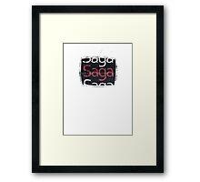 Saga Framed Print
