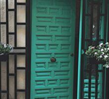 Come In, We're Open Barcelona Photo Collage Sticker