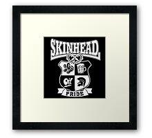 Skinhead Pride Framed Print