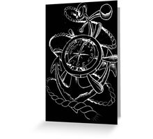 Anchor time Greeting Card