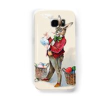 Victorian-Era Easter Rabbit Painting Eggs Samsung Galaxy Case/Skin