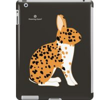 Black Spotted Japanese Rabbit iPad Case/Skin