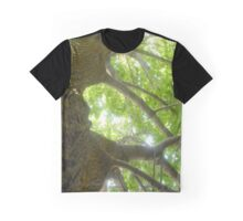 Majestic Green Maple Graphic T-Shirt