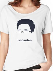 Edward Snowden (Hirsute History) Women's Relaxed Fit T-Shirt