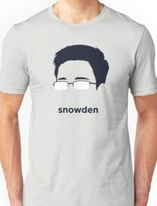 Edward Snowden (Hirsute History) Unisex T-Shirt