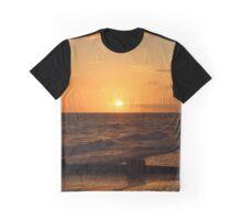 Golden Sunset Graphic T-Shirt