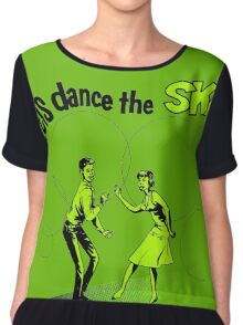 Let's Dance Ska Chiffon Top