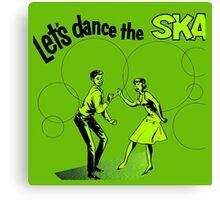 Let's Dance Ska Canvas Print