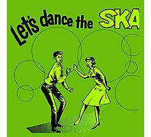 Let's Dance Ska Photographic Print