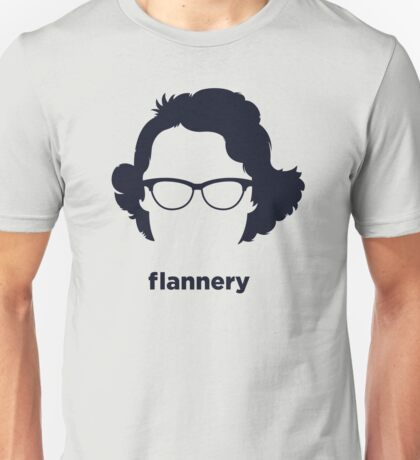 Flannery O' Connor (Hirsute History) Unisex T-Shirt