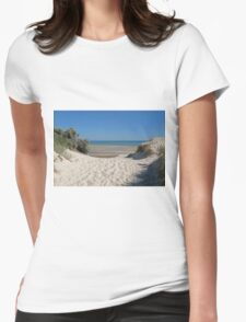Dune Crossing Womens Fitted T-Shirt