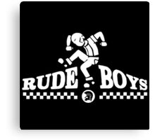 Skankin' Rude Boy Canvas Print