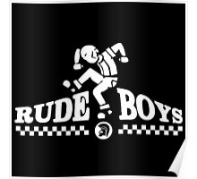 Skankin' Rude Boy Poster